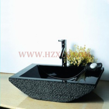 HZX-Black Granite Rectangular Sink