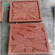 Red Sandstone sculpture for wall decoration