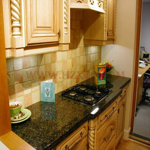 Verde Ubatuba Granite Countertop Kitchentop